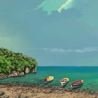 Sailing Serenity II Fine Art Print