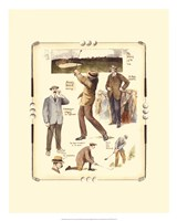 Walton Heath Golf Tournament Fine Art Print