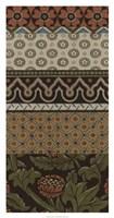 Heirloom Textile VI Framed Print