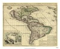 America, London, ca. 1740 Fine Art Print
