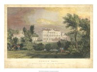 Howick Hall Framed Print