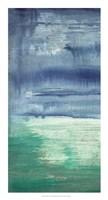 Blue Bayou I Framed Print