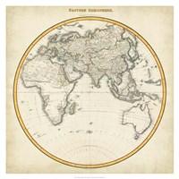 1812 Eastern Hemisphere Fine Art Print