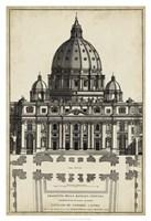 Basilica at the Vatican Fine Art Print