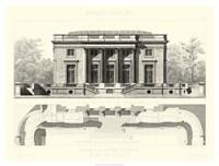Palais Du Petit Trianon Fine Art Print