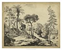 Classical Landscape I Fine Art Print
