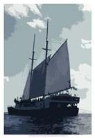 Caribbean Vessel I Fine Art Print