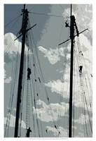 Caribbean Vessel IV Fine Art Print