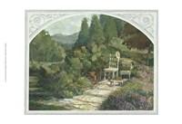 Lavender Garden Fine Art Print