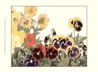 Small Japanese Flower Garden V Fine Art Print