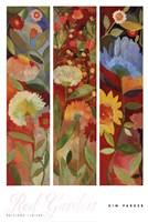 Red Garden Fine Art Print