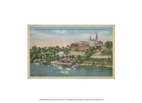 Georgetown from the Potomac River Fine Art Print