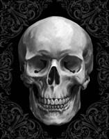 Glam Skull Fine Art Print