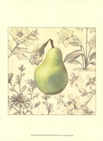 Pear and Botanicals Fine Art Print