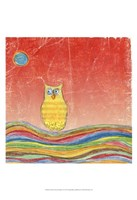 Feathers, Dots & Stripes VI Fine Art Print