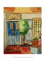 Greek Cafe III Fine Art Print