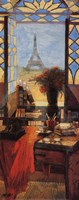 Window to the Eiffel Tower Fine Art Print