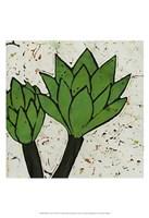 Planta Green VII Fine Art Print