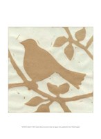 Tea Bird I Fine Art Print
