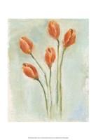 Painted Tulips I Fine Art Print