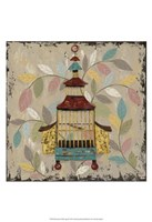 Decorative Bird Cage III Fine Art Print