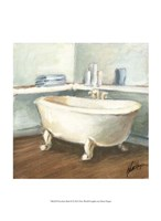 Porcelain Bath II Framed Print