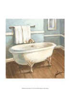 Porcelain Bath IV Framed Print