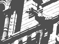 Gargoyle Statue Framed Print