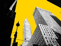 New York on Yellow Fine Art Print