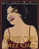 Nite Owl Fine Art Print