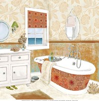 Spice Bath I - Mini Fine Art Print