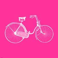 Pink Bicycle Fine Art Print