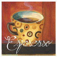 Espresso Dots Fine Art Print