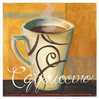 Cappucino Swirls Fine Art Print