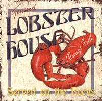 Lobster House Fine Art Print