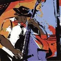 Jazz Man - mini Fine Art Print