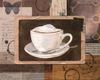 Vintage Latte - mini Fine Art Print