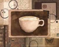 Vintage Cappuccino - mini Fine Art Print