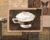 Vintage Eiskaffee - mini Fine Art Print