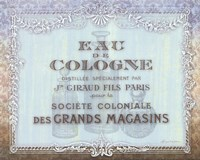 French Soap Label I Fine Art Print