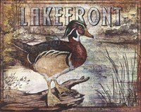 Duck Sign II - petite Fine Art Print