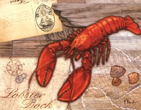 Fresh Catch Lobster Fine Art Print