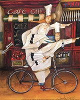 Chefs on the Go - mini Fine Art Print