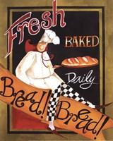 Fresh Baked Bread - mini Fine Art Print