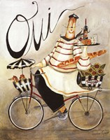 Chef & Wine I Fine Art Print