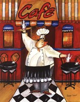 Cafe - mini Fine Art Print