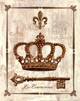 La Couronne Framed Print