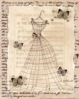 Wire Dress II - mini Fine Art Print