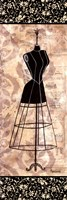 Dress Form Panel I - mini Fine Art Print