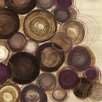 Purple Whimsy Sq. II Fine Art Print